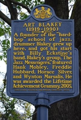 Art Blakey Marker image. Click for full size.
