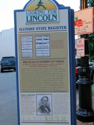 Illinois State Register Marker image. Click for full size.