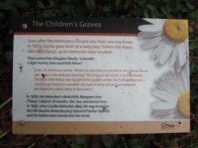 The Children's Graves Marker image. Click for full size.