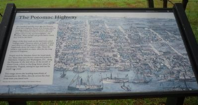 The Potomac Highway Marker image. Click for full size.