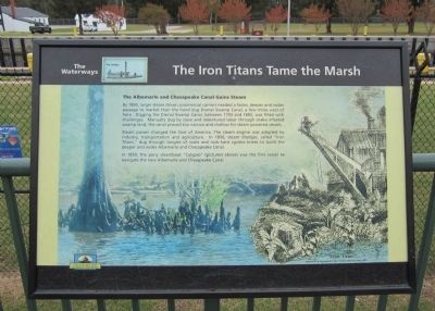The Iron Titans Tame the Marsh? Marker image. Click for full size.
