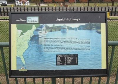 Liquid Highways Marker image. Click for full size.