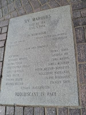 S/V Marques Marker image. Click for full size.