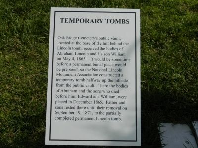 Temporary Tombs Marker image. Click for full size.
