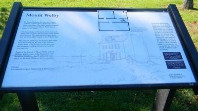 <i>Panel 2</i>: Mount Welby Marker image. Click for full size.