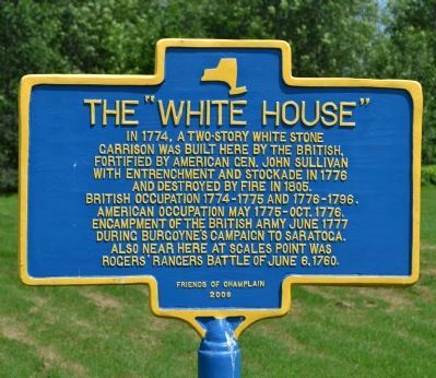 "The ""White House"" Marker image. Click for full size."