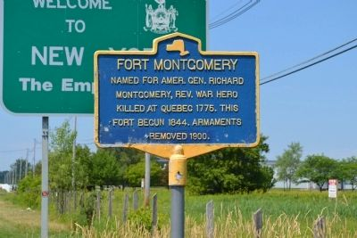Fort Montgomery Marker image. Click for full size.