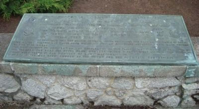 The Victoria Centennial Fountain Marker - Key Plaque image. Click for full size.