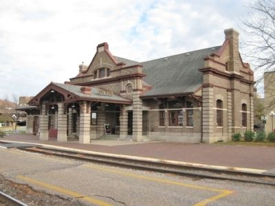 Chicago, Milwaukee & St. Paul Railroad Depot image. Click for full size.