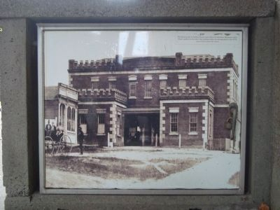 Photograph of the Old Jail image. Click for full size.