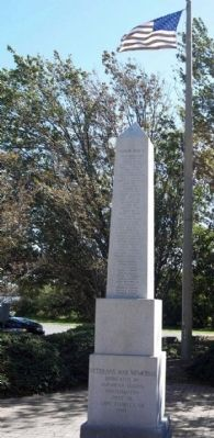 Cape Charles Veterans' Memorial image. Click for full size.