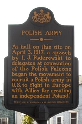 Polish Army Marker image. Click for full size.