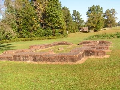 Foundation of the Powder Magazine image. Click for full size.
