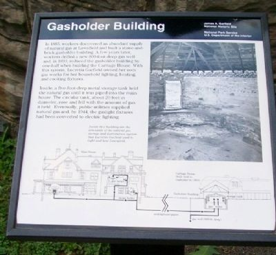 Gasholder Building Marker image. Click for full size.