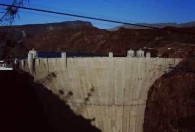 Hoover Dam in the Afternoon Sunlight image. Click for full size.