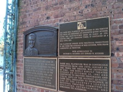 Markers at the Paper Mill Playhouse image. Click for full size.