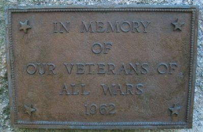 Blairsville Veterans Memorial Marker image. Click for full size.