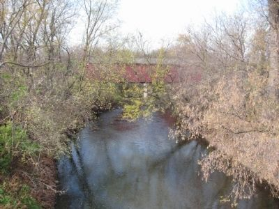 Zumbro River and Covered Bridge image. Click for full size.