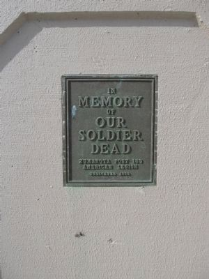 Plaque on Bridge image. Click for full size.