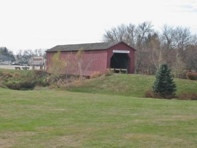 Zumbrota Covered Bridge image. Click for full size.
