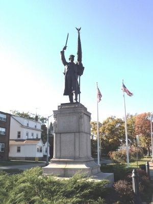 Orange Civil War Monument image. Click for full size.