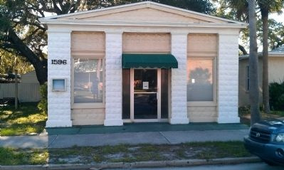 Old Eau Gallie Post Office image. Click for full size.