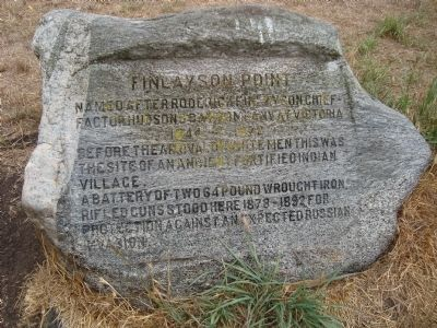 Finlayson Point Marker image. Click for full size.