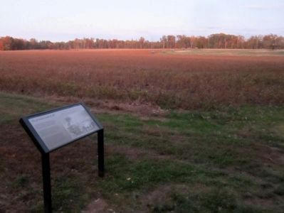 Union gun positions in the distance image. Click for full size.