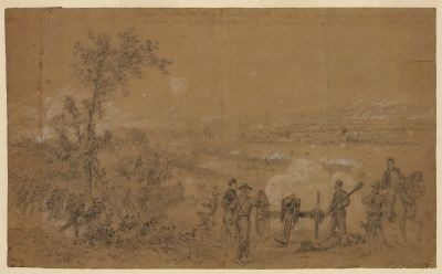 Battle of Malvern Hill image. Click for full size.