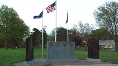 Northeast Kansas Korean War Memorial image. Click for full size.