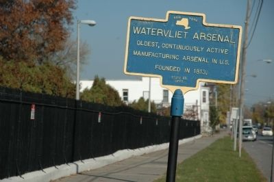 Watervliet Arsenal Marker image. Click for full size.