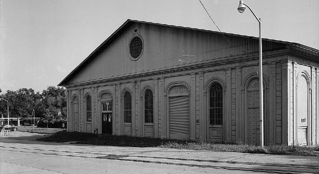 Watervliet Arsenal Cast Iron Building image. Click for full size.