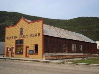 Dawson Daily News Building image. Click for full size.