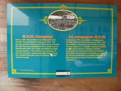 K.T.M. Company Marker image. Click for full size.