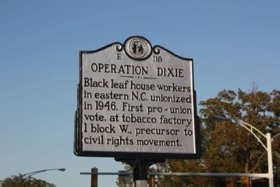 Operation Dixie Marker image. Click for full size.