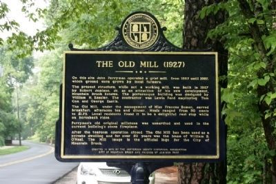 Robert Jemison, Jr. (1878-1974) / The Old Mill (1927) Marker image. Click for full size.