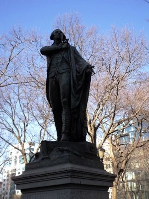 Bartholdi's Sculpture of Lafayette in Union Square Park image. Click for full size.