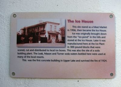 The Ice House Marker image. Click for full size.