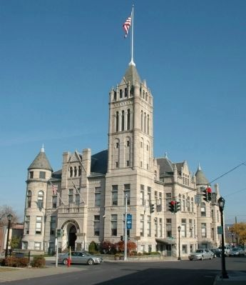 Cohoes City Hall image. Click for full size.