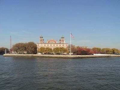 Immigration Building on Ellis Island image. Click for full size.