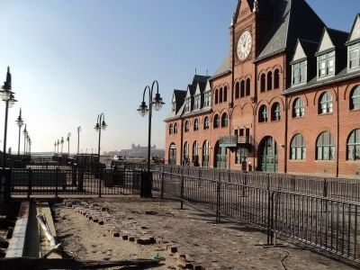 The Central Railroad of New Jersey Terminal image. Click for full size.