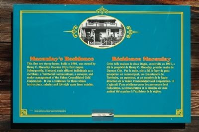 Macaulay's Residence Marker image. Click for full size.