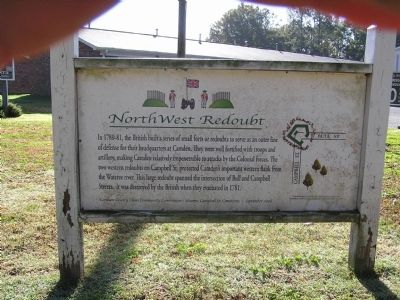 Nothwest Redoubt Marker image. Click for full size.