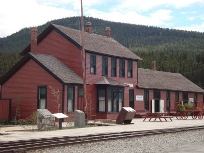 White Pass & Yukon Route Depot image. Click for full size.