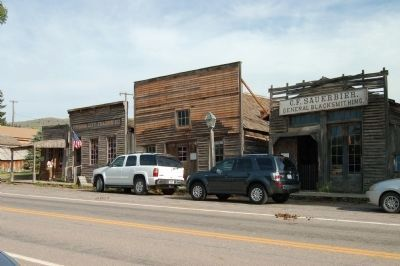 Virginia City National Historic Landmark District image. Click for full size.