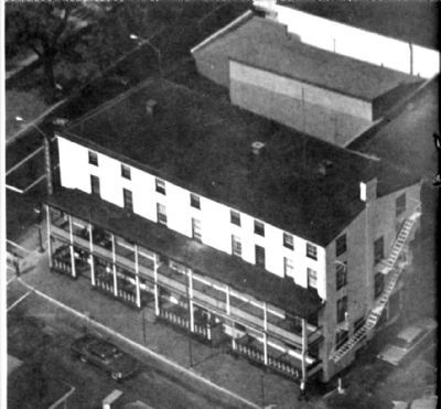 Aerial of Turk's Head a year or so before it was razed image. Click for full size.