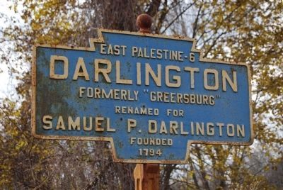 Darlington Keystone Marker image. Click for full size.
