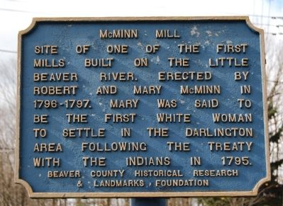 McMinn Mill Marker image. Click for full size.