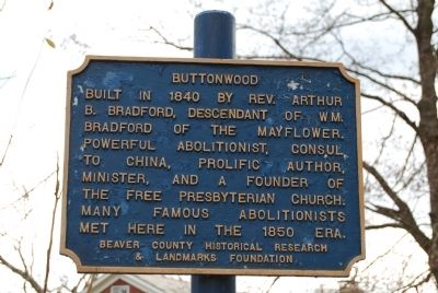 Buttonwood Marker image. Click for full size.