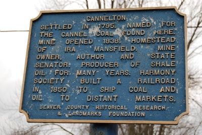Cannelton Marker image. Click for full size.